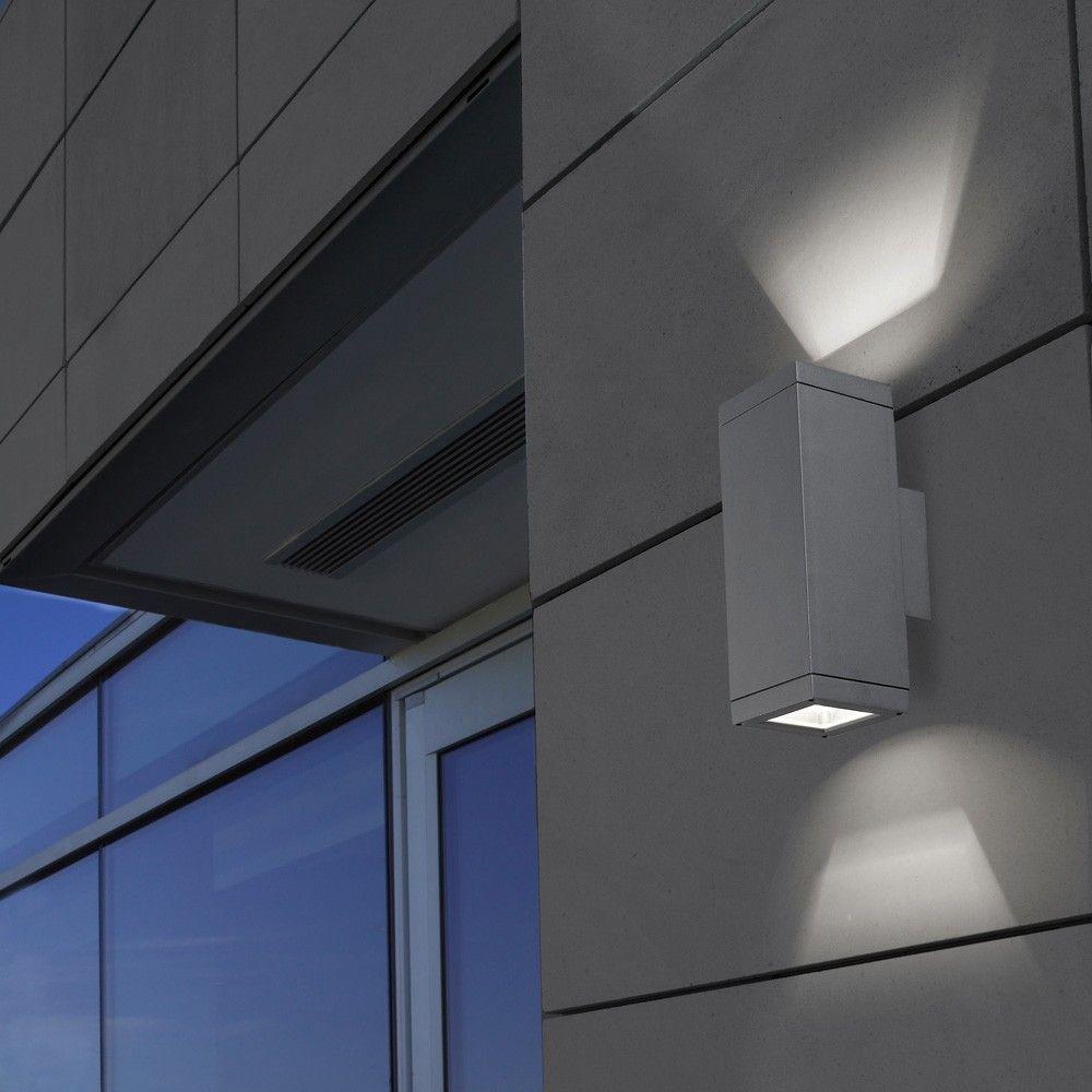 Afrodita Pillar Up Down Exterior Wall Light By Leds C4 Outdoor Spain Lighthouse Nelson Www Nelsonlighting Co Nz Exterior Wall Light