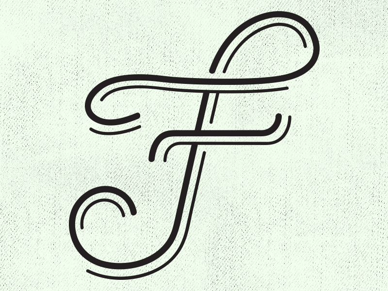 Experimenting With The Letter F Fancy F Pinterest