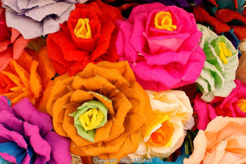 Artificial crepe paper flowers in san miguel de allende mexico artificial crepe paper flowers in san miguel de allende mexico these flowers were created by san miguel artist maria luisa mightylinksfo
