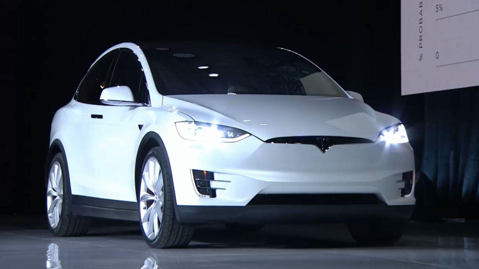 Tesla Unveils The Model X The World S Longest Range Electric Suv Tesla Model X Tesla Model Tesla