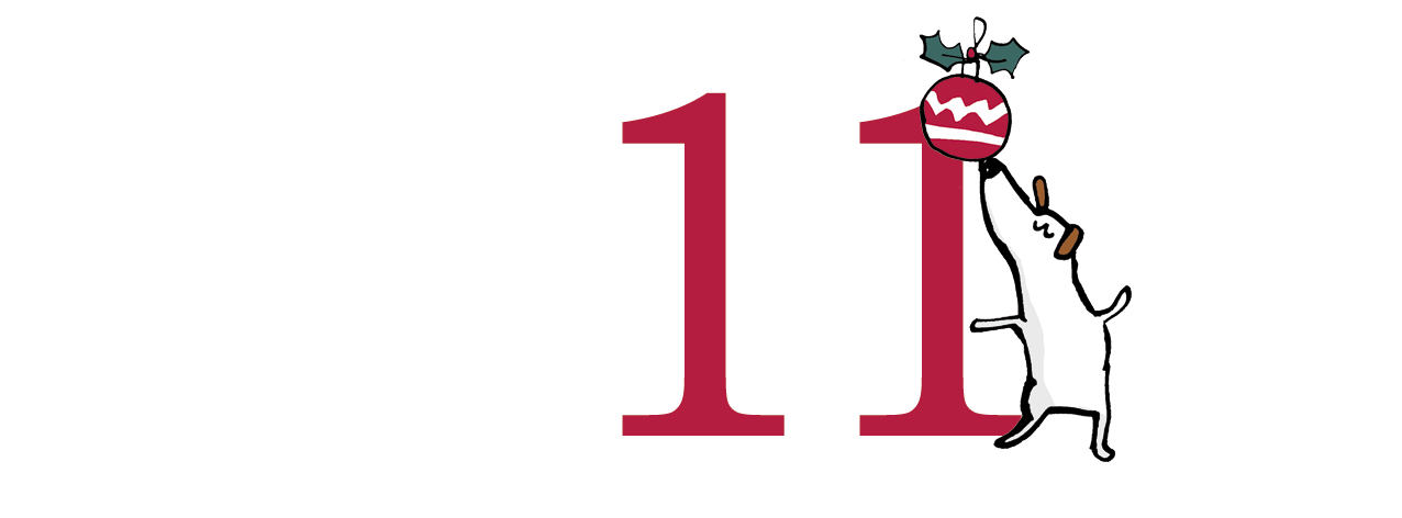 11th December. Advent Calendar by Terrier Digital. Half way there! :)