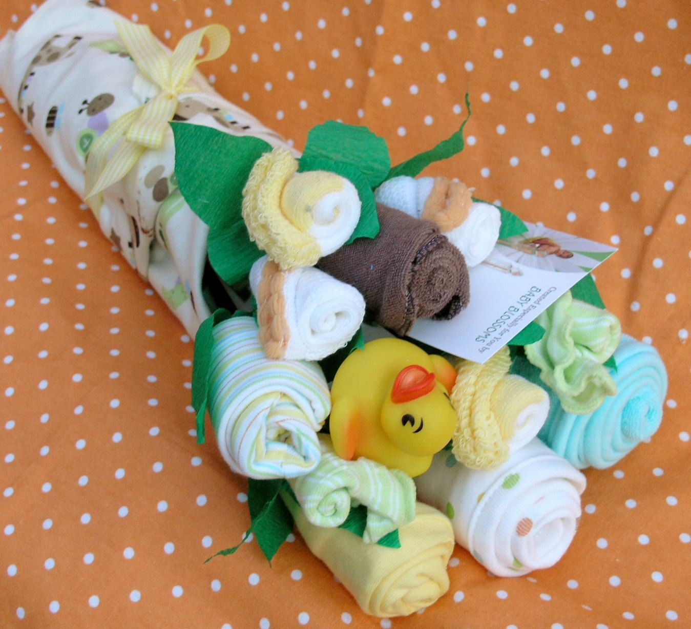 High Quality Gender Neutral Baby Shower Gift Bouquet By Babyblossomco On Etsy, $35.00