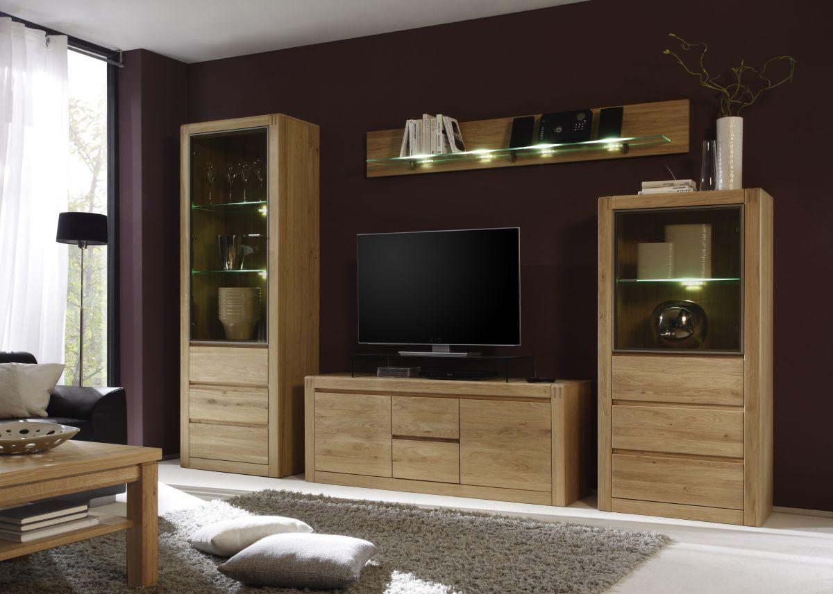 Wohnwand Eiche Bianco Teilmassiv Inter Furn Ponto Holz Modern Jetzt Bestellen Unter Https Moebel Ladendirekt De Wohnen Wohnzimmerschranke Wohnzimmer Design