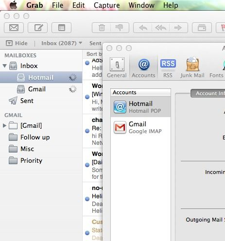 how to import windows live mail to mac mail rh pinterest dk mac mail manually add account mac mail manual configuration