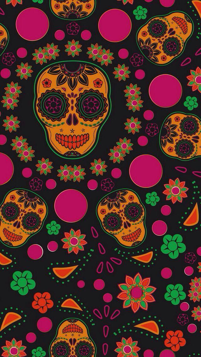 Fondos One Piece Para Pc Buscar Con Google Skull Wallpaper Sugar Skull Wallpaper Halloween Wallpaper