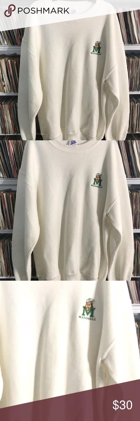 Vintage Marshall University Sweatshirt Sweatshirts Vintage College Sweatshirts University Sweatshirts [ 1740 x 580 Pixel ]