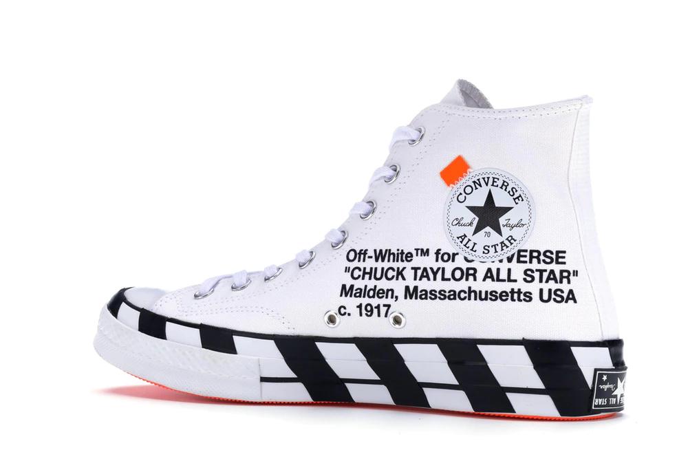 price of off white converse