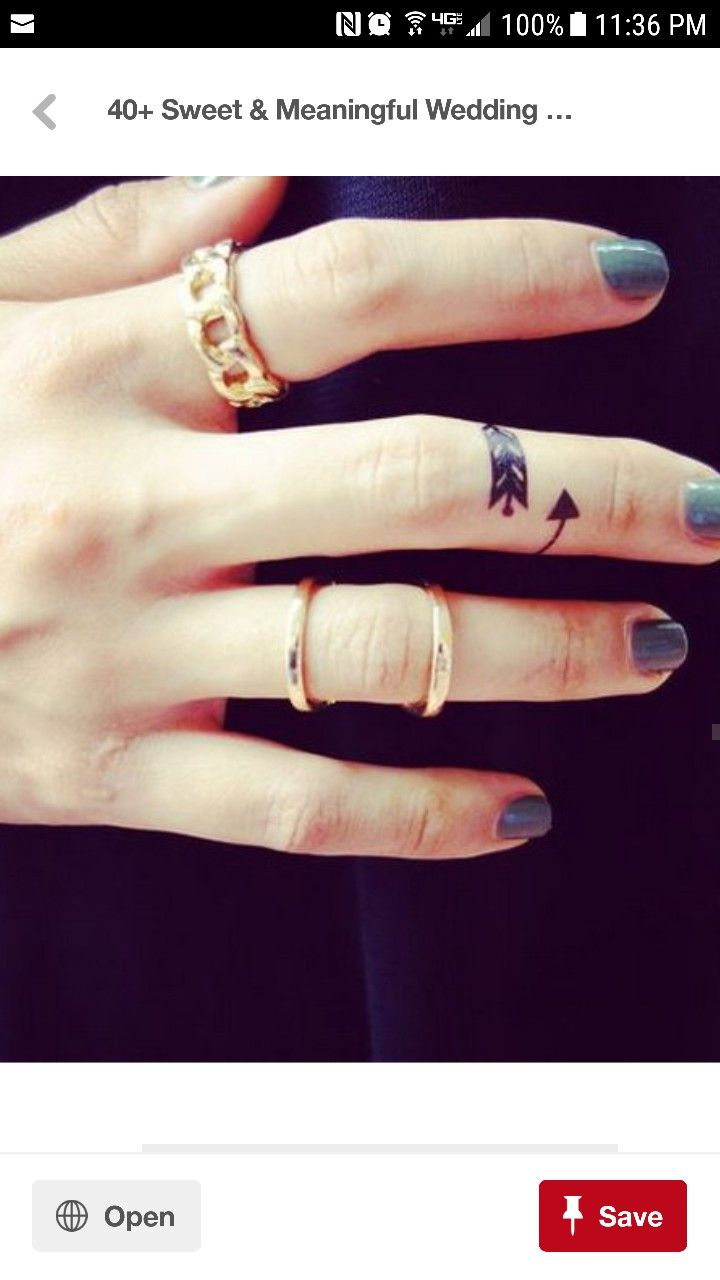 Pin By Kelly Sexton On Wedding Band Tattoo Pinterest Ring