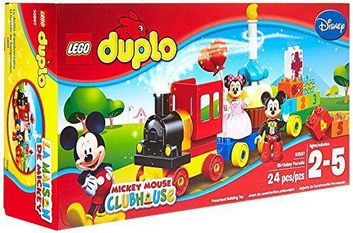 Lego Duplo Brand Disney 10597 Mickey And Minnie Birthday Parade Building Kit Http Www Amazon Com Dp B00 Lego Duplo Disney Mickey Mouse Clubhouse Disney Toys