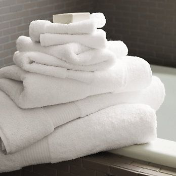 All White Bath Towels Like These White Egyptian Cotton Towels