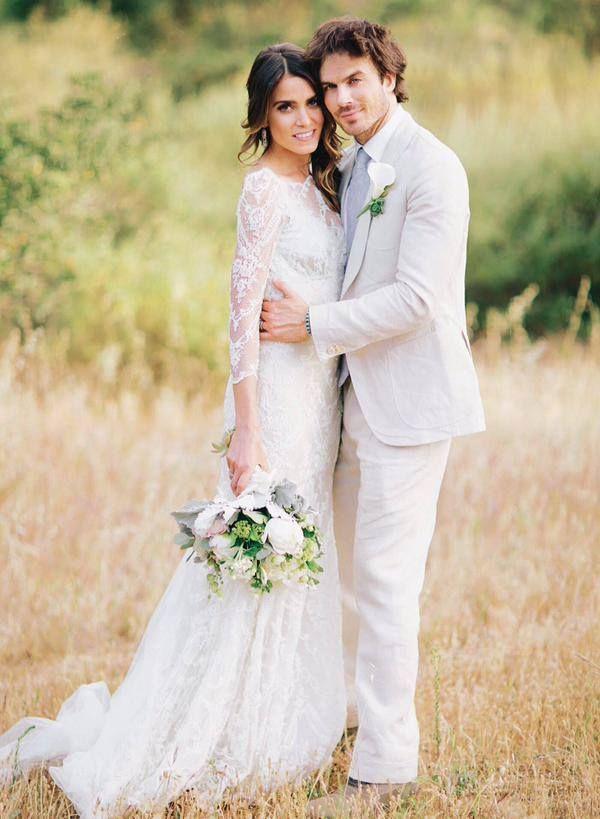Ian Somerhalder In Magazine May 2015 Nikki Reed Wedding Ian Somerhalder Wedding Wedding Dresses
