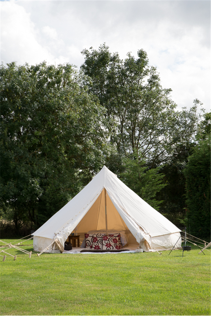 Canvas Tent Shop | 4 Metre Bell Tent Canvas C&ing Gl&ing Outdoor Waterproof Frontier Stove & Canvas Tent Shop | 4 Metre Bell Tent Canvas Camping Glamping ...