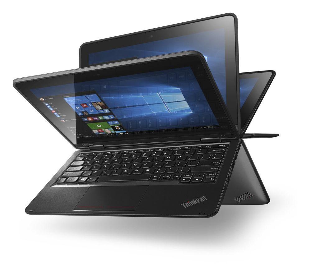 "Lenovo Yoga 11.6"" Touchscreen Laptop Intel N3150 1.6GHz"