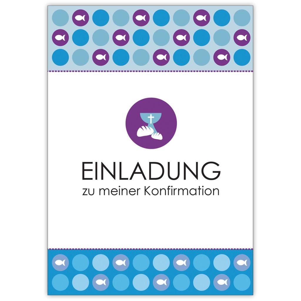 einladungskarten konfirmation günstig (dengan gambar)