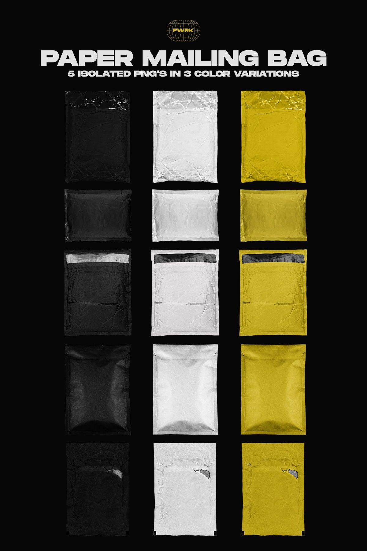 Download Paper Delivery Bags In Png Delivery Bag Honey Label Design Marketing Solution