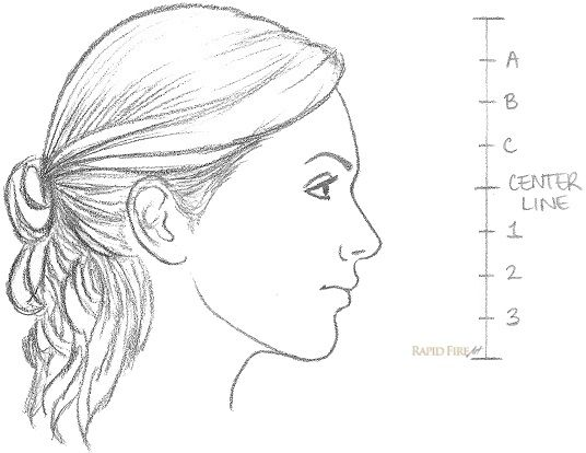 11 Steps On How To Draw A Female Face Side View Face Side View Drawing Side Face Drawing Side View Of Face
