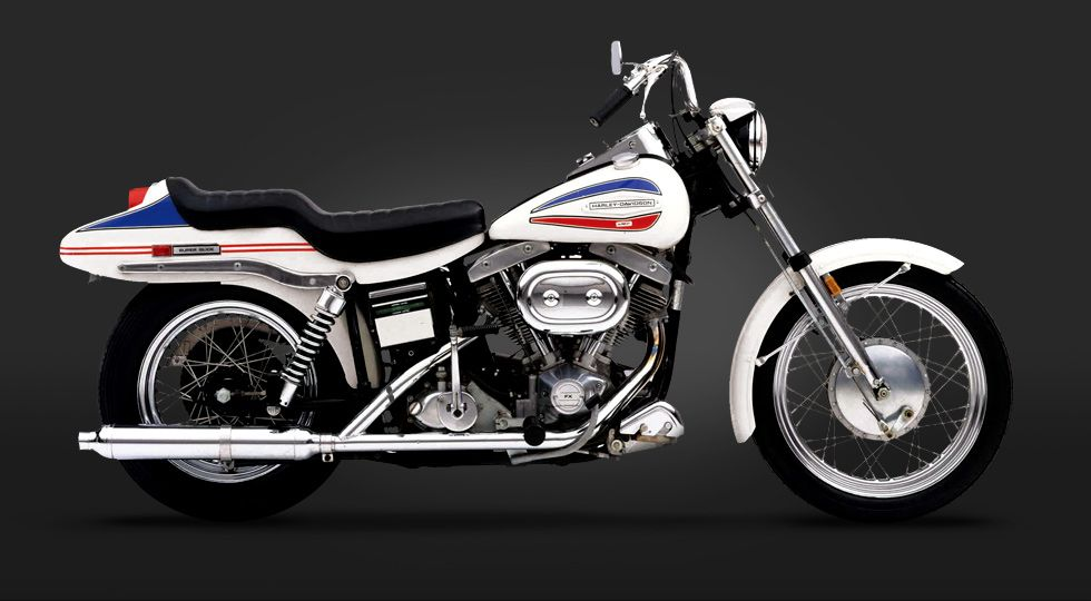 Picture Of Harleys First Year Of Superglide Com Thank You Willie