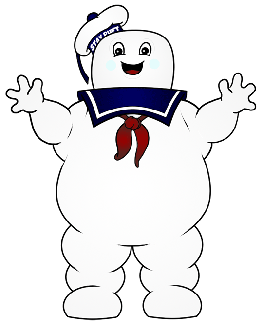 Stay Puft Marshmallow Man Cartoon Picture