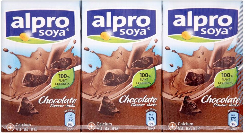 Alpro soya chocolate milk alternative these are good for Alpro soya cuisine