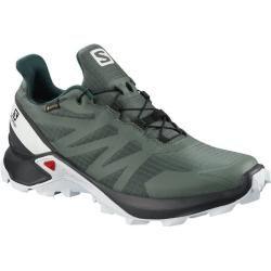 Salomon Damen Schuhe Supercross Gtx W Bals, Größe 40 in Gelb/Weiß/Schwarz, Größe 40 in Gelb/Weiß/Sch