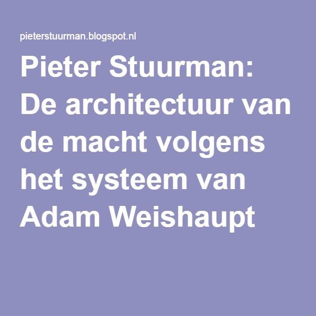 Pieter Stuurman: De architectuur van de macht volgens het systeem van Adam Weishaupt
