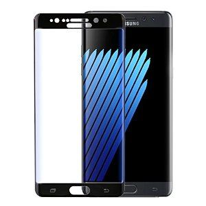 Roll over image to zoom in TRF Ultra Thin Curved Surface Protect Film Tempered Glass Screen Protector For Samsung Galaxy Note 7 (black)