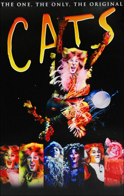 Cats The Musical Poster Tour Musical Movies Musicals Cats Musical