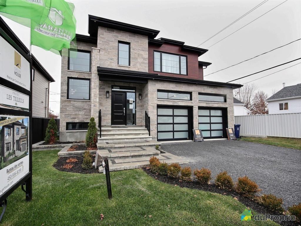 Maison neuve vendre duvernay 7310 avenue des tilleuls for Immobilier maison neuve