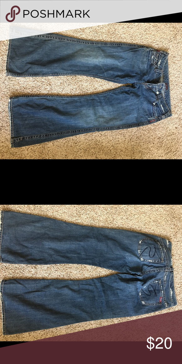 Silver jeans size 33/31 in great condition