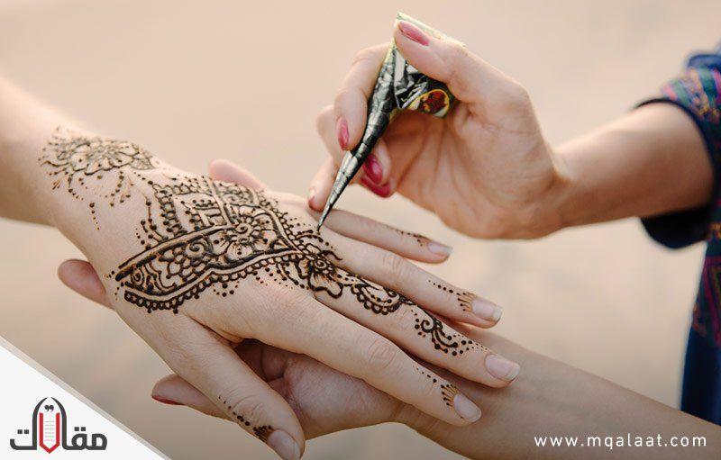 طريقة عمل الحناء للنقش Henna Tattoo Designs Henna Tattoo Hand Small Henna Tattoos