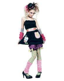 Harajuku Pop Girl Tween Costume