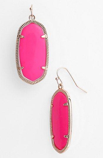 Kendra Scott Elle Small Oval Earrings Nordstrom