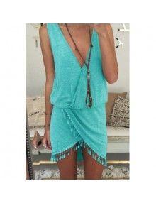 Lela Dress Blue