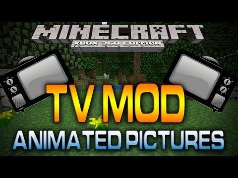 Minecraft (Xbox 360): TV MOD | CUSTOM ANIMATIONS (Map w/ Download ...