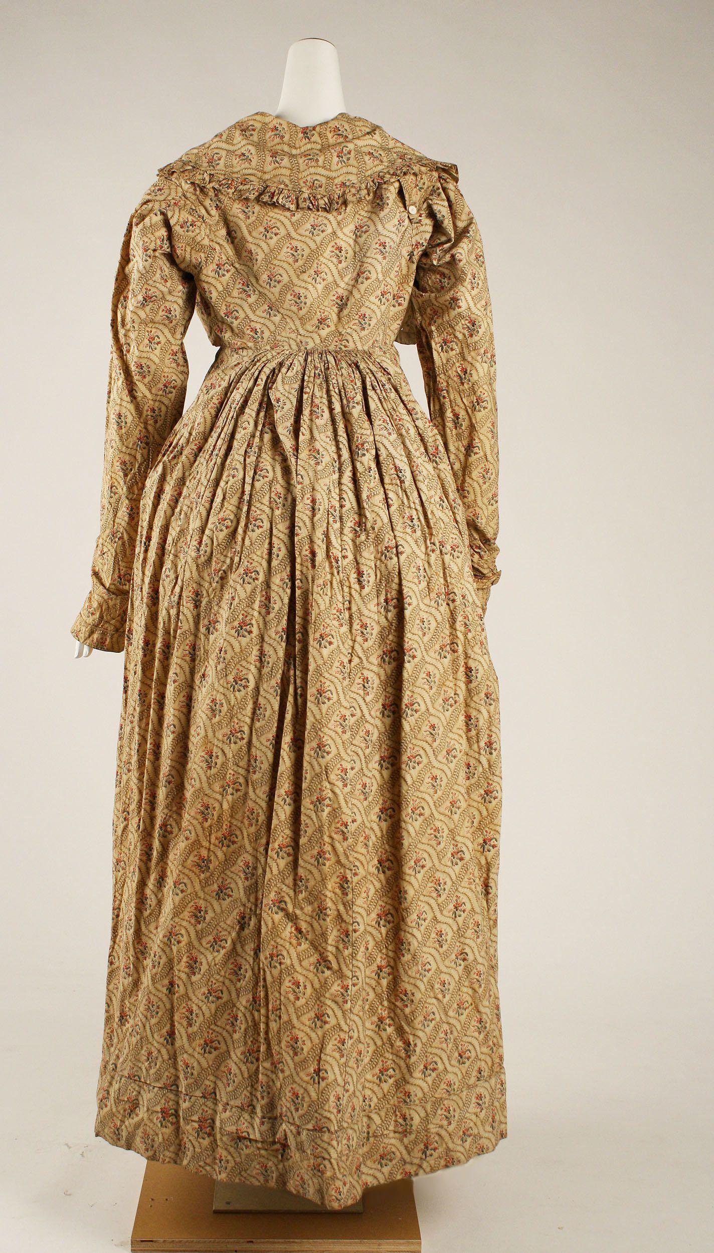 1818 Dress | British | The Metropolitan Museum of Art