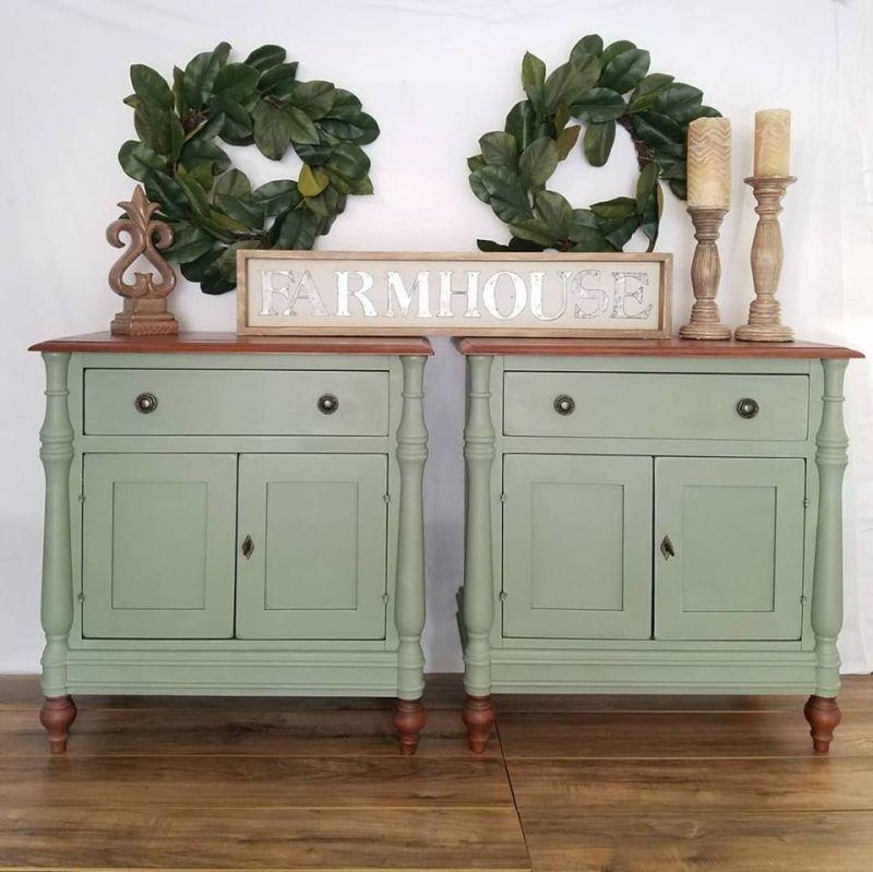 Basil Nightstands | Green painted furniture, Furniture ...