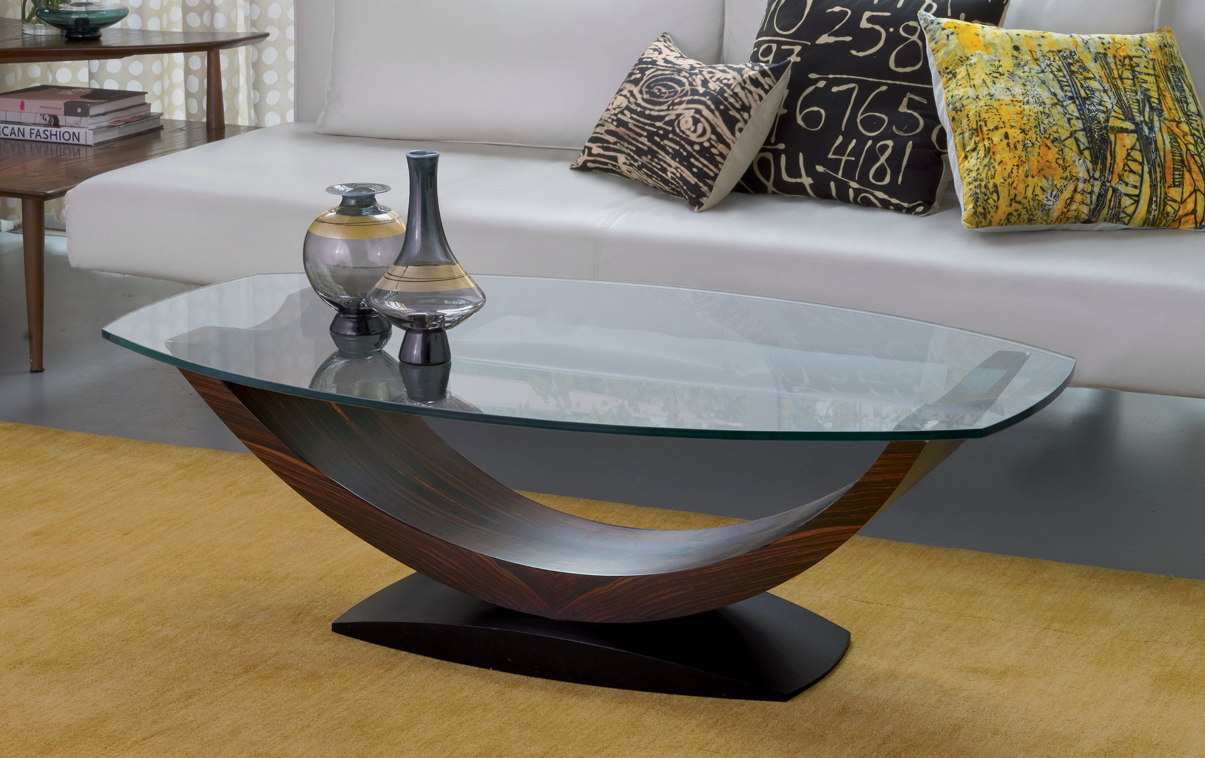 Arc Coffee Table By Enrico Konig Wood Coffee Table Artful Home In 2021 Coffee Table With Wheels Marble Top Coffee Table Black Glass Coffee Table [ 1509 x 2400 Pixel ]