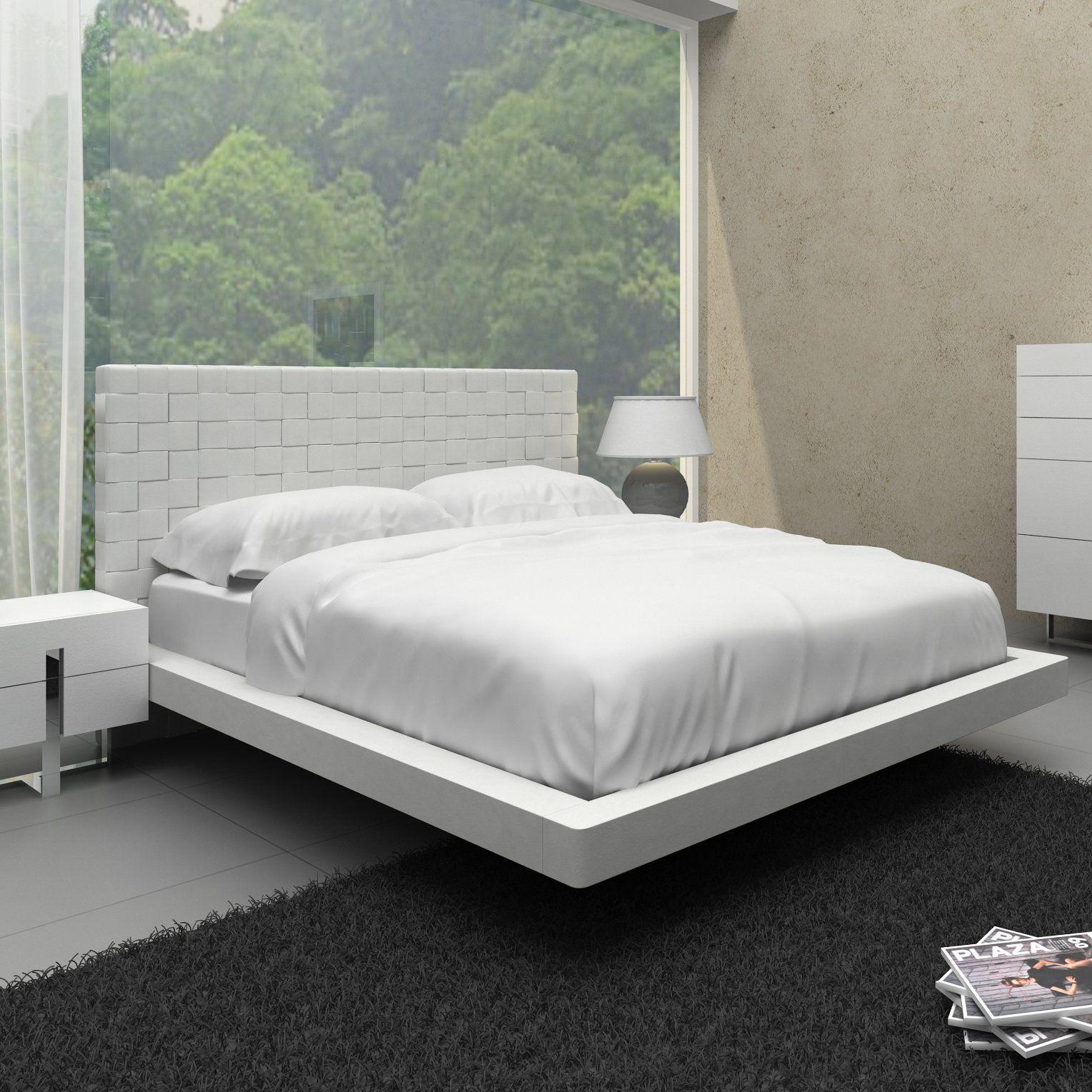 Modern Perrott Upholstered Platform Bed Perrott