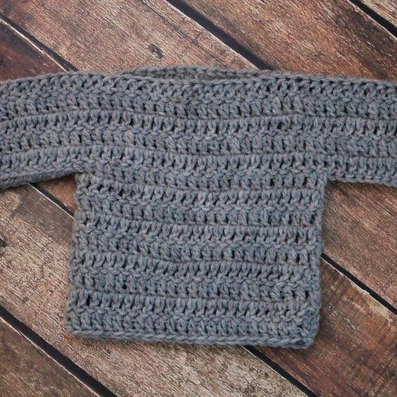 Free Baby Sweater Crochet Pattern