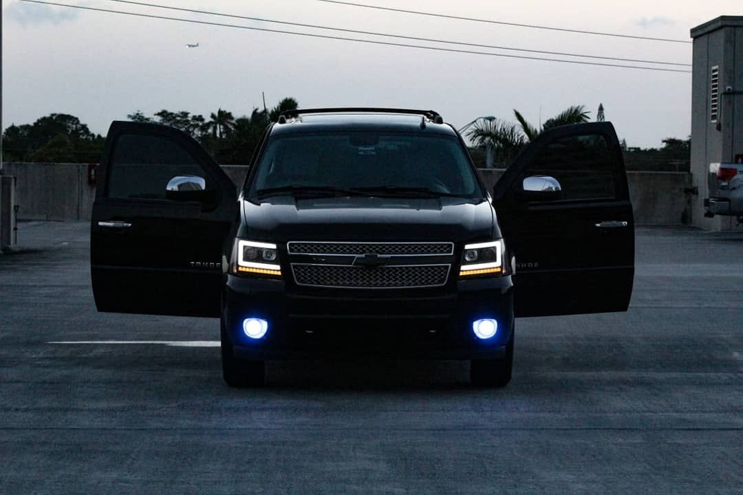 Tahoe Custom Headlights Chevy Tahoe Custom Headlights Chevrolet Tahoe