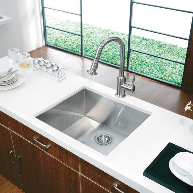 square kitchen sink blue appliances single basin sinks