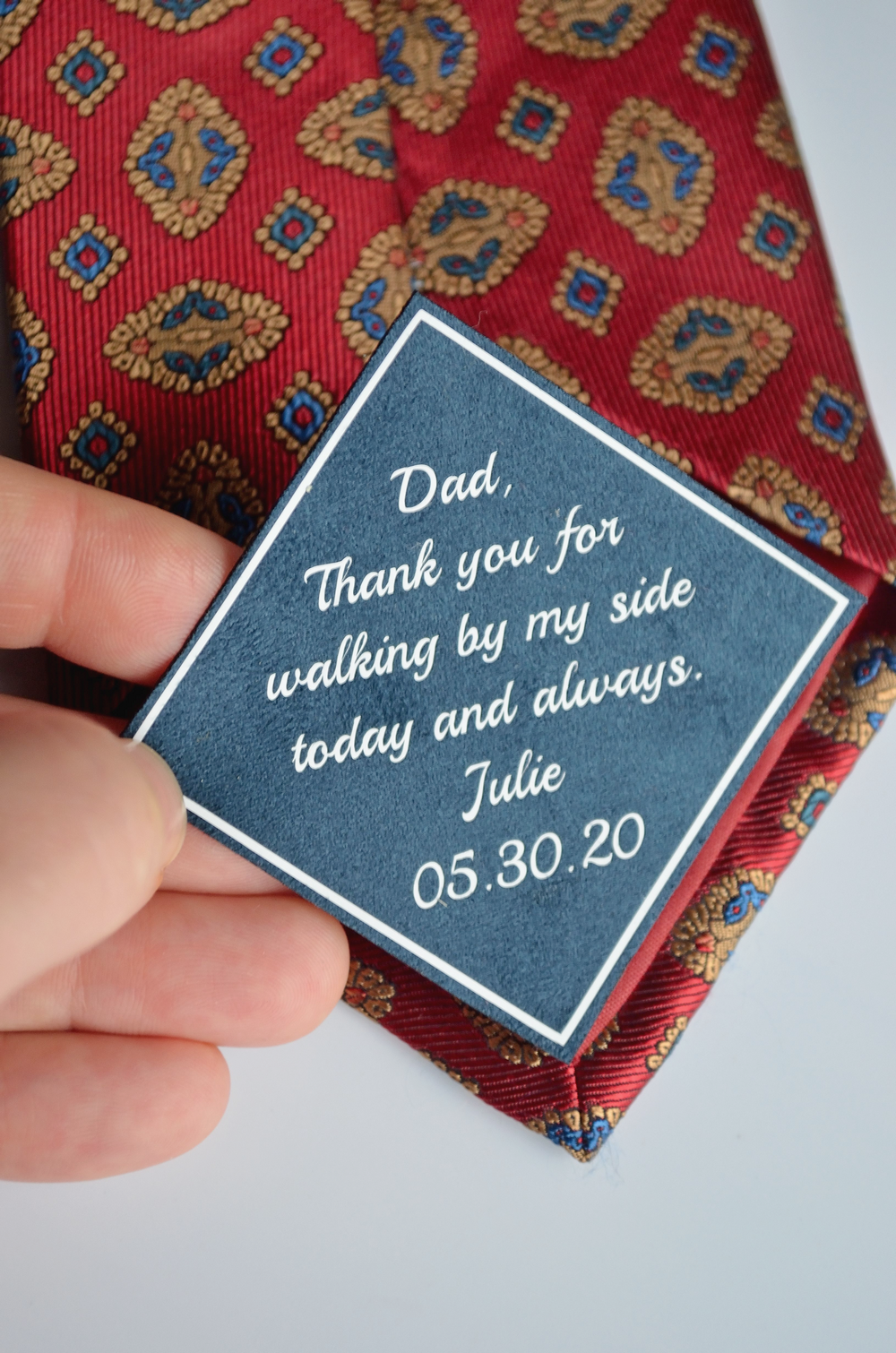 Wedding Gift For Father Of The Bride Gifts For Dads Tie Etsy In 2020 Father Of The Bride Sentimental Wedding Gifts Bride Gifts