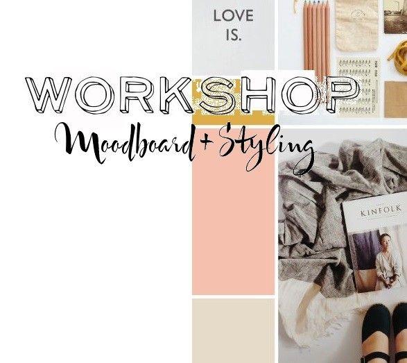 Workshop Moodboard + Styling #ninaweddings