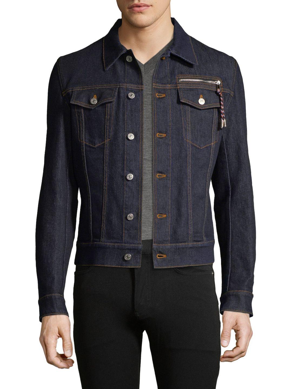 Denim Jean Jacket In Blue デニムジャケット, ジャケット