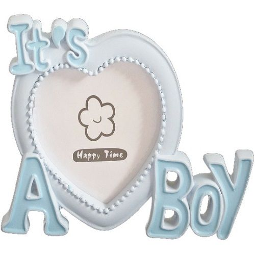 Baby 'Its a Boy' Blue Photo Frame Gift