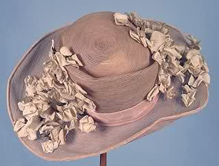 Wide Brim Summer Cloche, 1920s. Chapeau, Chapeau de
