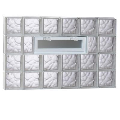 Clearly Secure 42 5 In X 36 75 In X 3 125 In Frameless Wave
