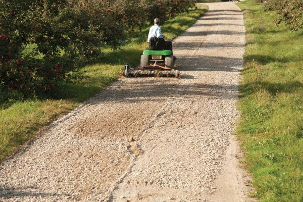 How To Grade A Gravel Driveway Gravel Driveway Gravel Driveway Landscaping Driveway