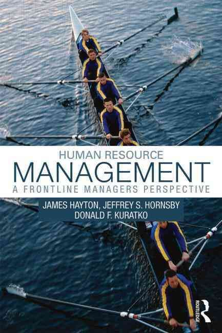 Human Resource Management: A Frontline Manager's Perspective