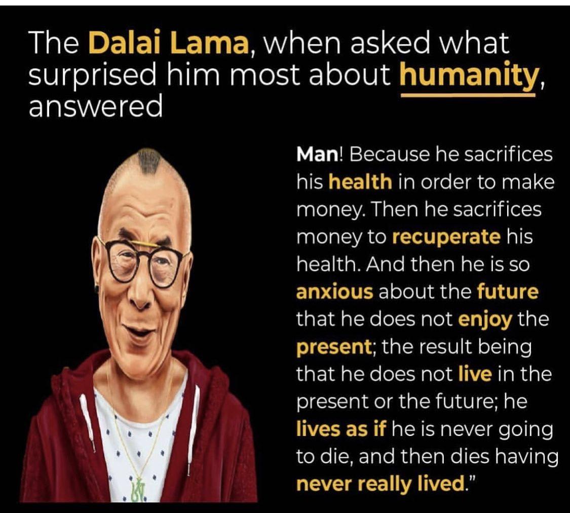 Dalai Lama Quotes Living In Present